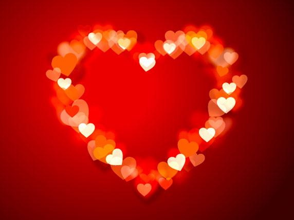 Illustration d'un grand coeur, symbole de l'amour.