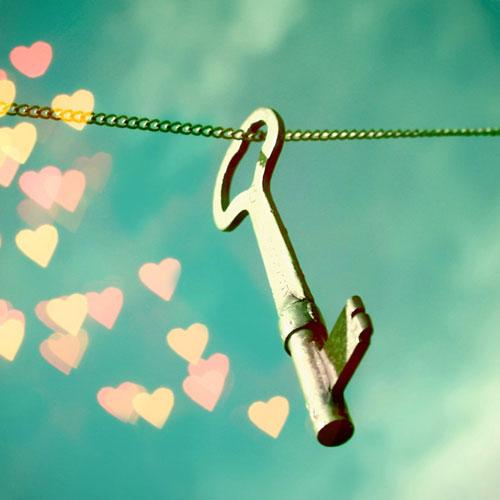 Photo d'une clé (Love freedom, by Beorange)